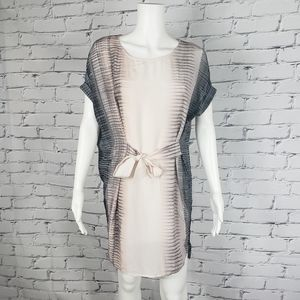 All Saint Silk Sonny Dusk Dress